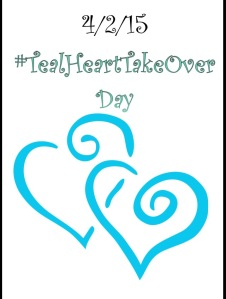 teal heart day